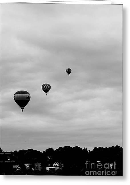 Floating Above Greeting Card by Victory  Designs