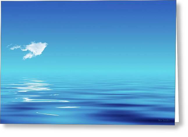 Floating Cloud Greeting Card