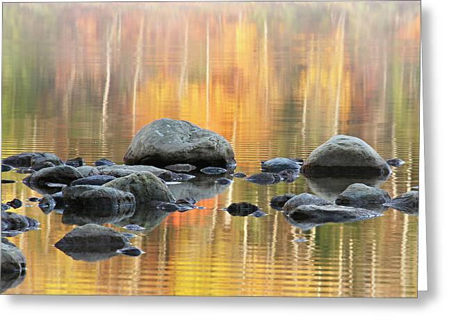 Floating Rocks Greeting Card