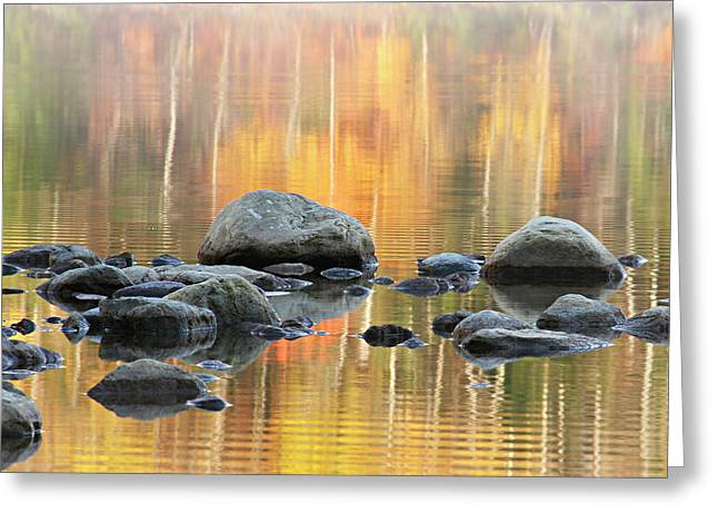 Floating Rocks Greeting Card