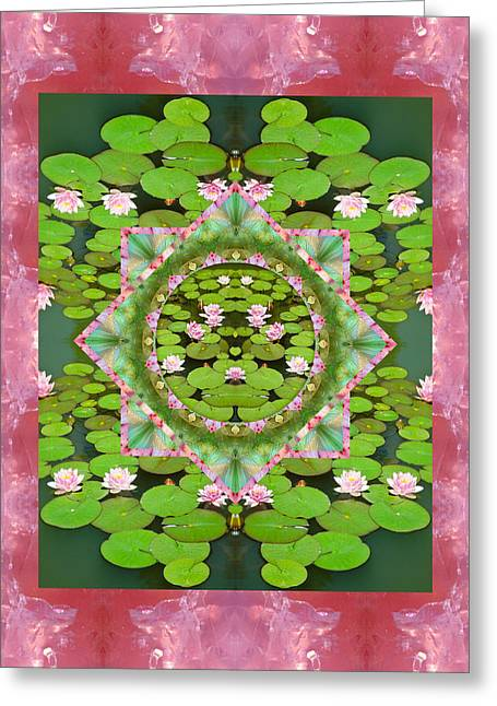 Floating World Greeting Card by Bell And Todd