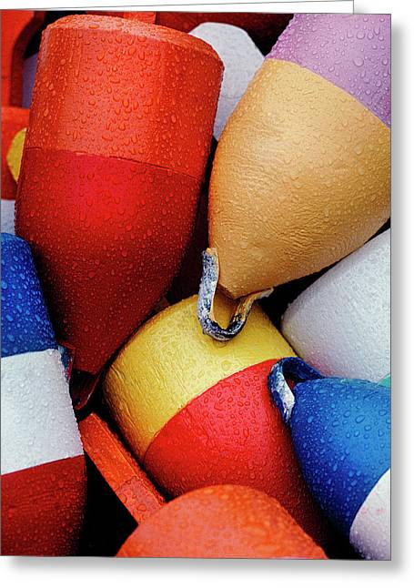 Floats Greeting Card