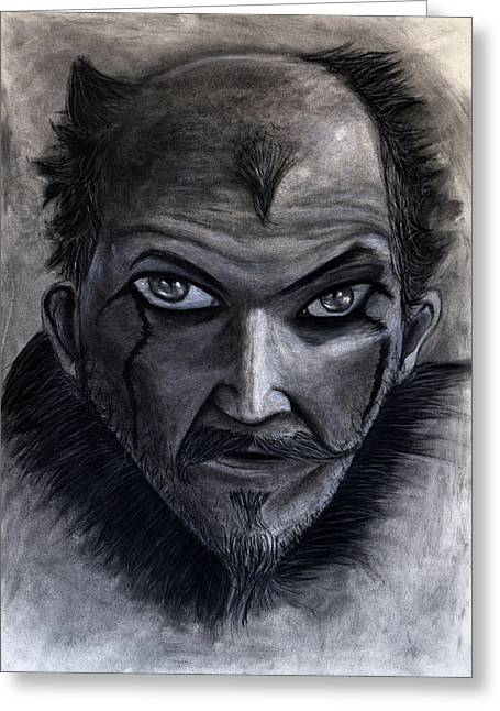 Vikings Floki Greeting Card by Lucas Trucios