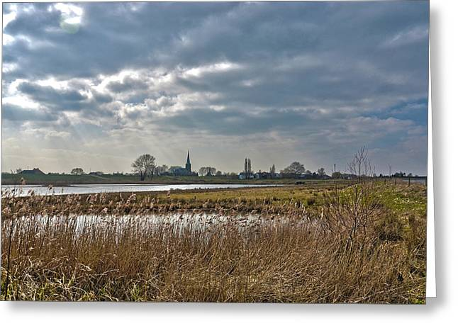 Floodplains Near Culemborg Greeting Card