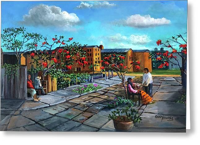 Flor De Noche Buena Greeting Card