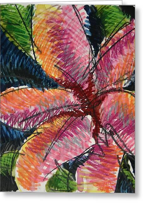 Flora Exotica 3 Greeting Card by Dodd Holsapple
