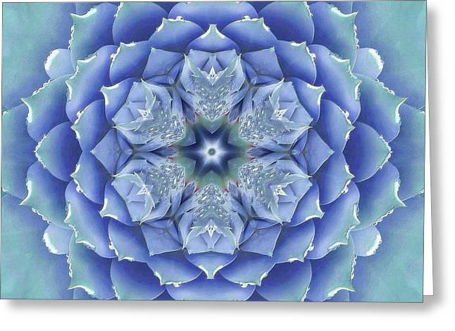 Flora Muse Mandala Greeting Card