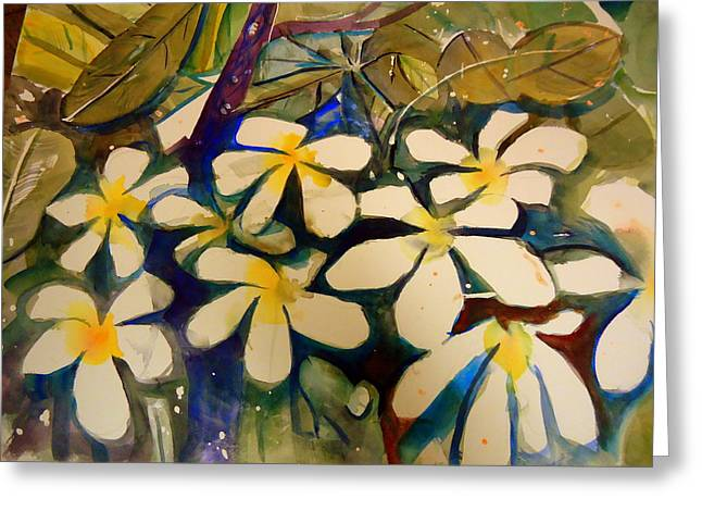 Flora Greeting Card by Steven Holder