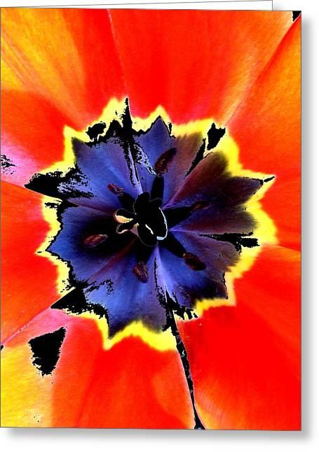 Floral 1229 Greeting Card by Chuck Landskroner