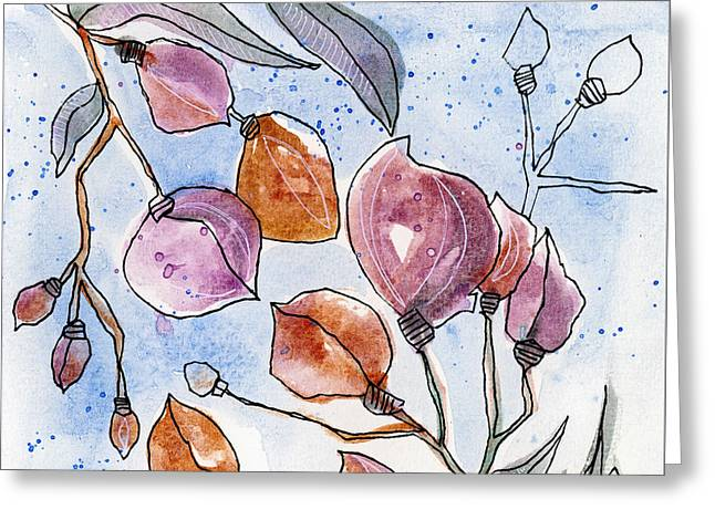Floral 15 Greeting Card by Tonya Doughty