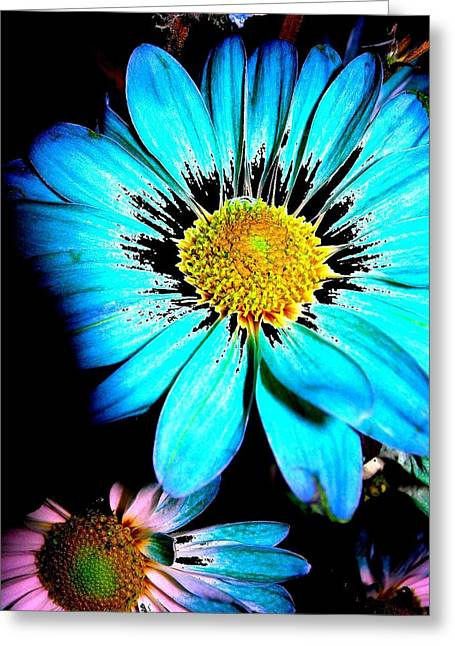 Floral 5 Greeting Card by Chuck Landskroner