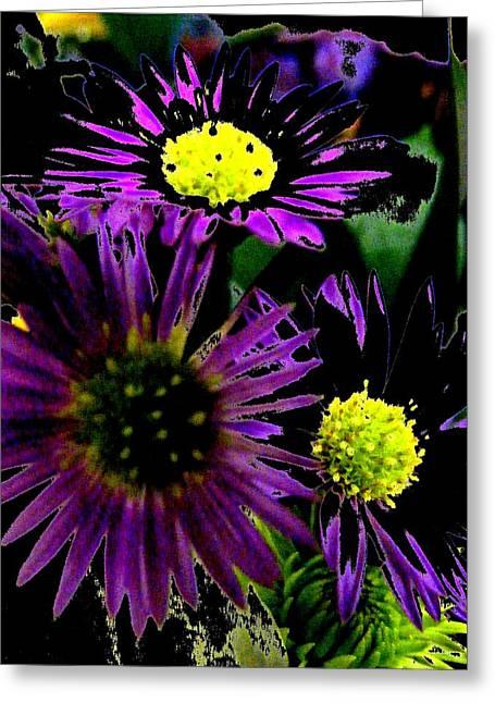 Floral 81 Greeting Card by Chuck Landskroner