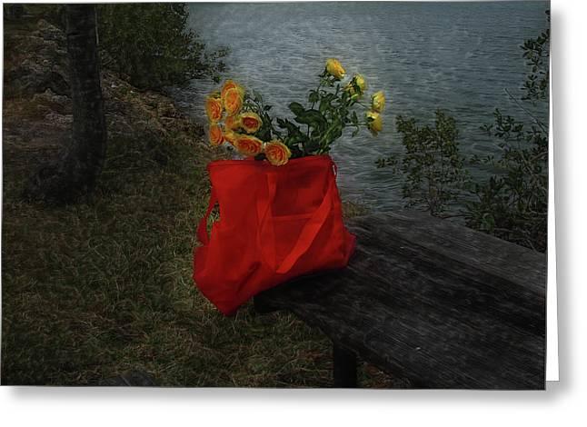 Floral Art 11 Greeting Card