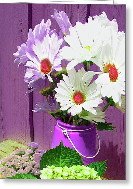 Floral Art 335 Greeting Card