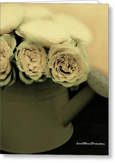 Floral Art 38 Greeting Card