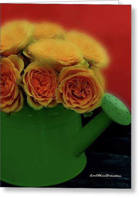 Floral Art 5 Greeting Card