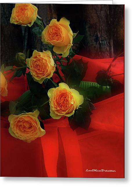 Floral Art 7 Greeting Card