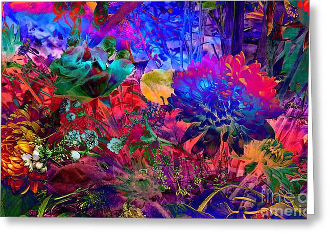 Floral Dream Of Summer Greeting Card