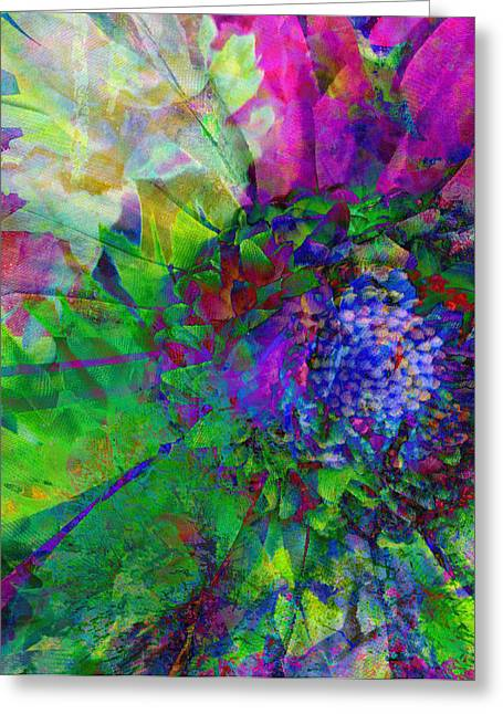 Floral Expressions I Greeting Card