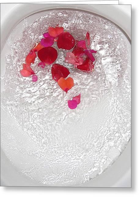 Floral Flush Greeting Card