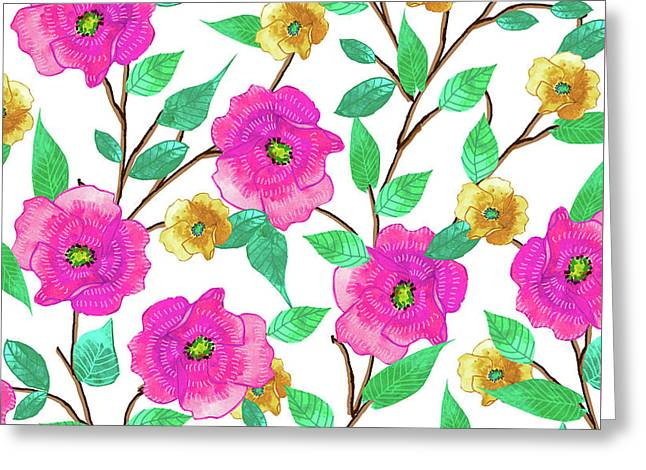 Floral Forever Greeting Card