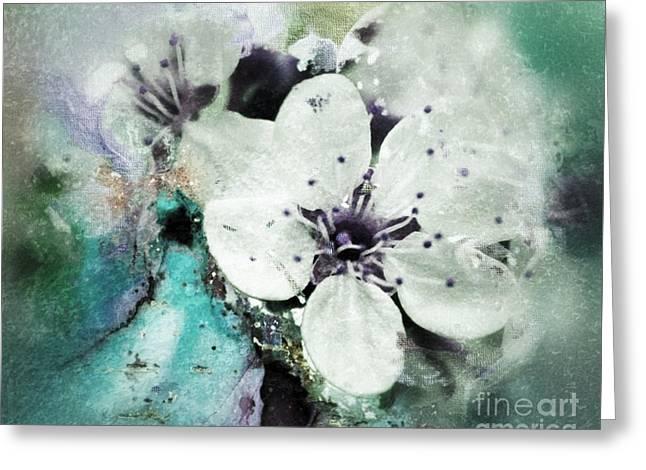 Floral Haze Greeting Card