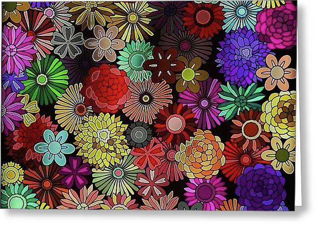 Floral Love Greeting Card