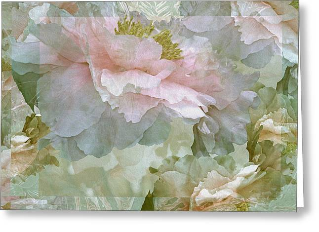 Floral Potpourri With Peonies 27 Greeting Card