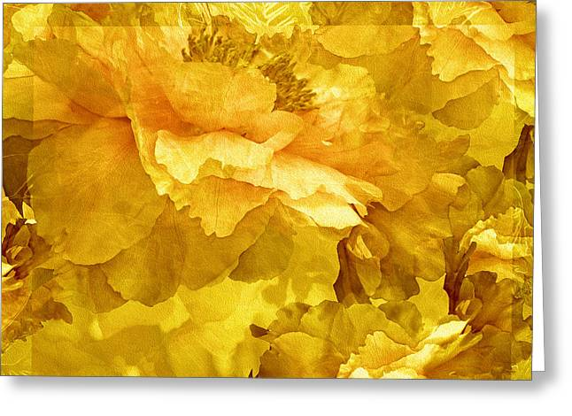 Floral Potpourri With Peonies 30 Greeting Card