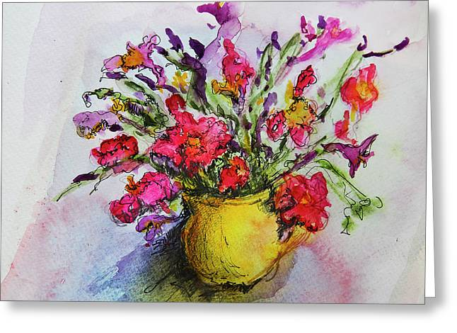Floral Still Life 05 Greeting Card