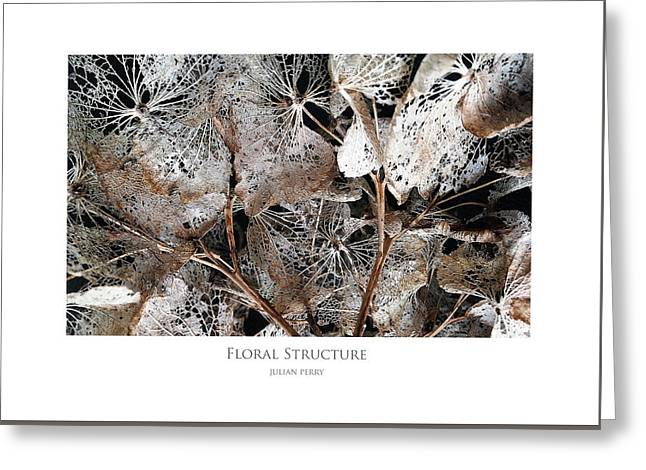 Floral Structure Greeting Card