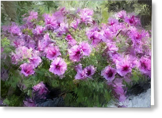 Floral Study 053010 Greeting Card by David Lane