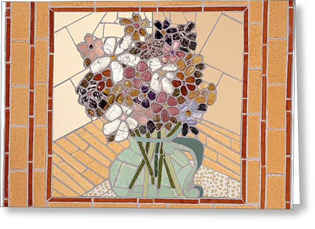 Floral Study II Greeting Card by Jonathan Mandell