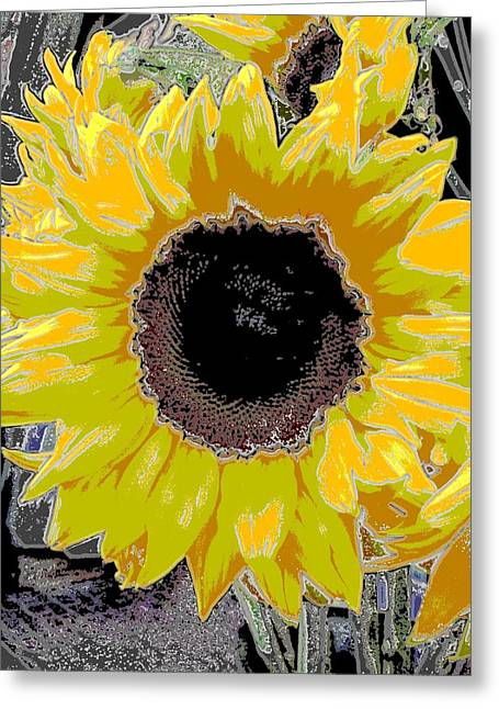 Floral Sunbeam Greeting Card