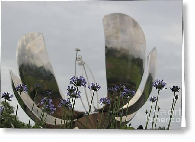 Floralis Generalis Greeting Card