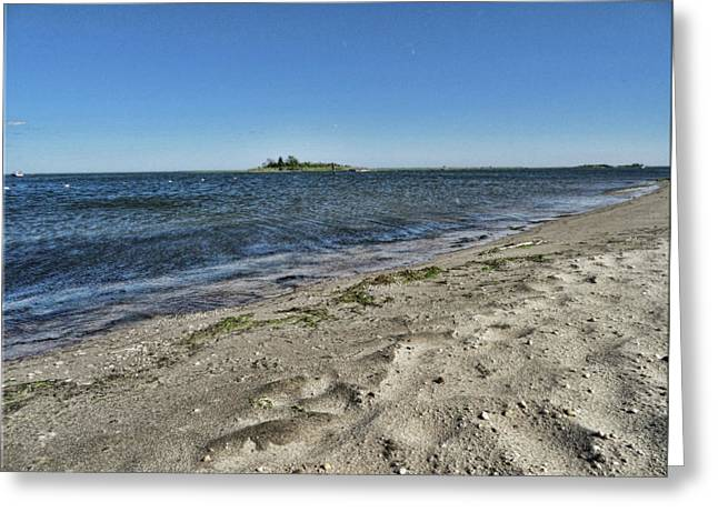 Florance Beach Greeting Card by Mikki Cucuzzo