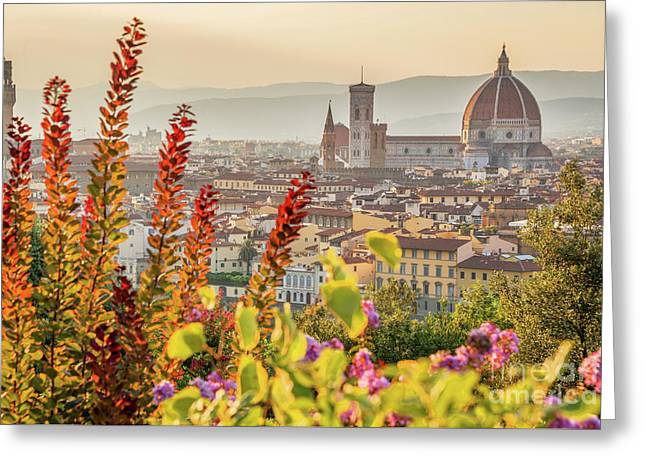 Florence In Summer Greeting Card