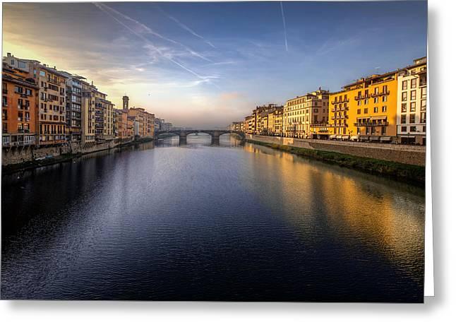 Florence Italy Bridge Greeting Card