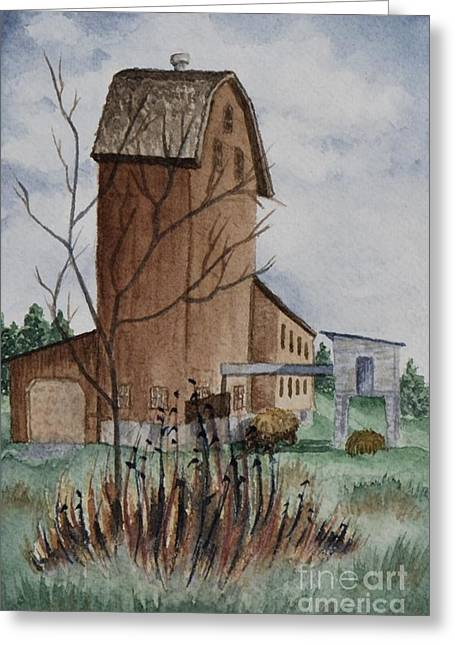 Florence Mill 1 Greeting Card by Kathleen Keller