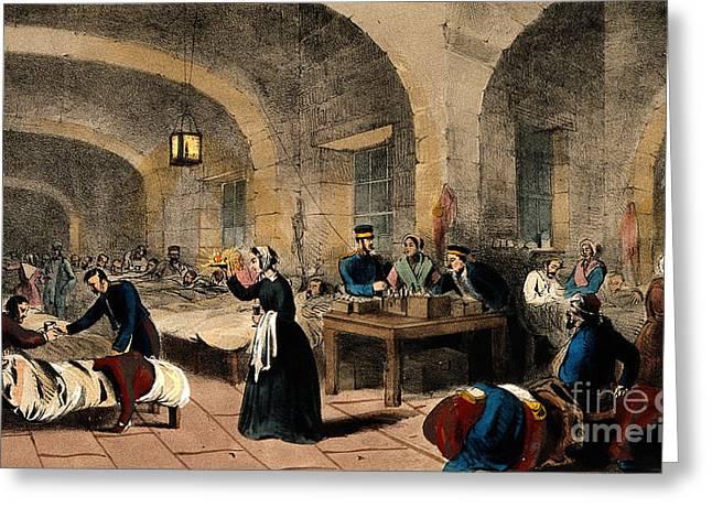 Florence Nightingale, Nurse And Reformer Greeting Card