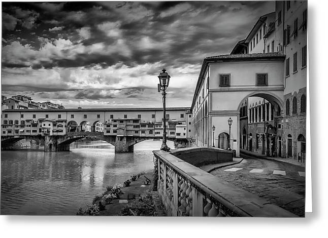 Florence Ponte Vecchio Greeting Card