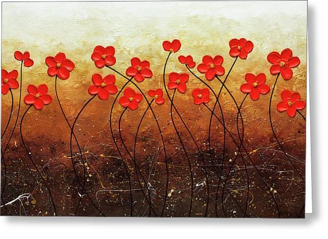 Flores De Mi Jardin Greeting Card