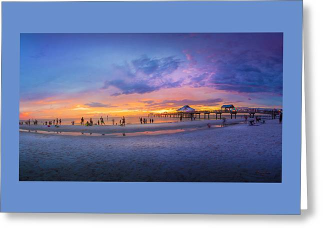 Florida Beach Fun Greeting Card