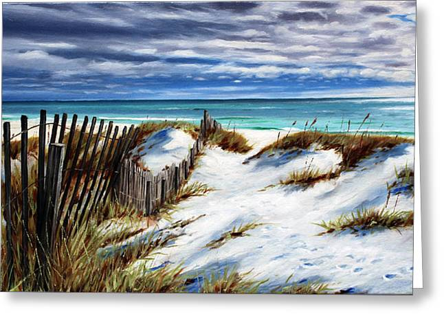 Florida Beach Greeting Card by Rick McKinney