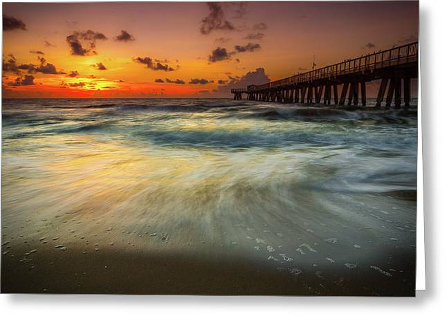 Florida Breeze Greeting Card by Edgars Erglis