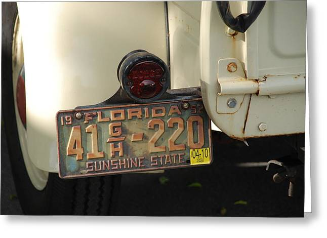 Florida Dodge Greeting Card by Rob Hans