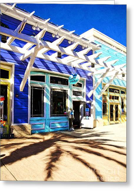 Florida Fantasies # 2 Greeting Card by Mel Steinhauer