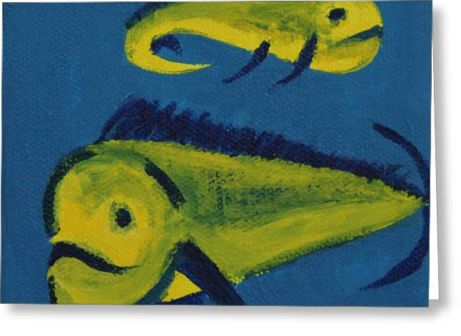 Florida Fish Greeting Card