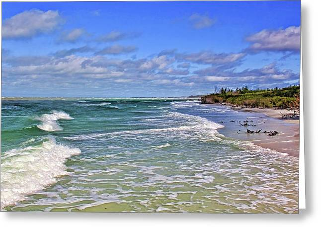 Florida Gulf Coast Beaches Greeting Card
