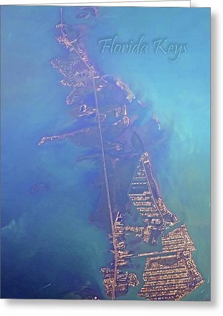 Florida Keys Greeting Card by Betsy Knapp